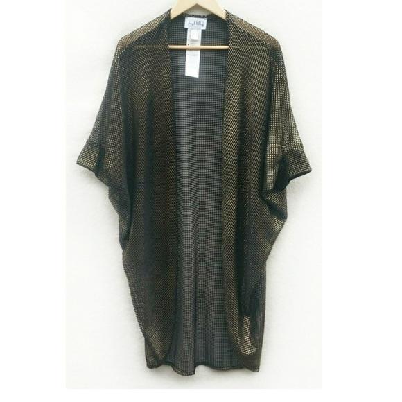 73% off Joseph Ribkoff Sweaters - Joseph Ribkoff Mesh Black Gold ...